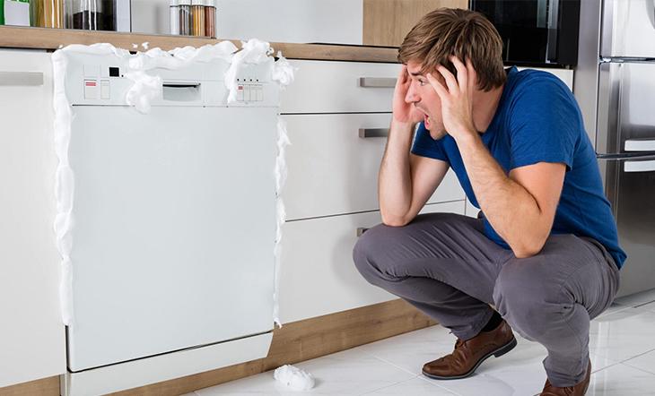 علت تخلیه نکردن ظرفشویی