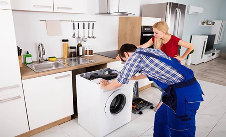 علت آبریزی ماشین لباسشویی